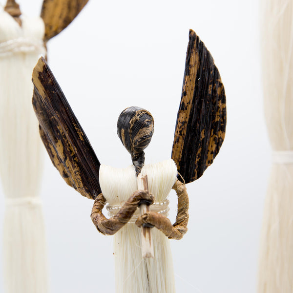 Sisal Angel Figures