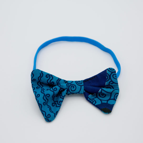 Bow Headband - Kenyan materials and design for a fair trade boutique