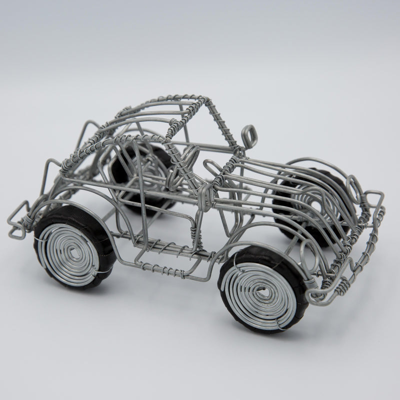 Wire VW Bug - Kenyan materials and design for a fair trade boutique