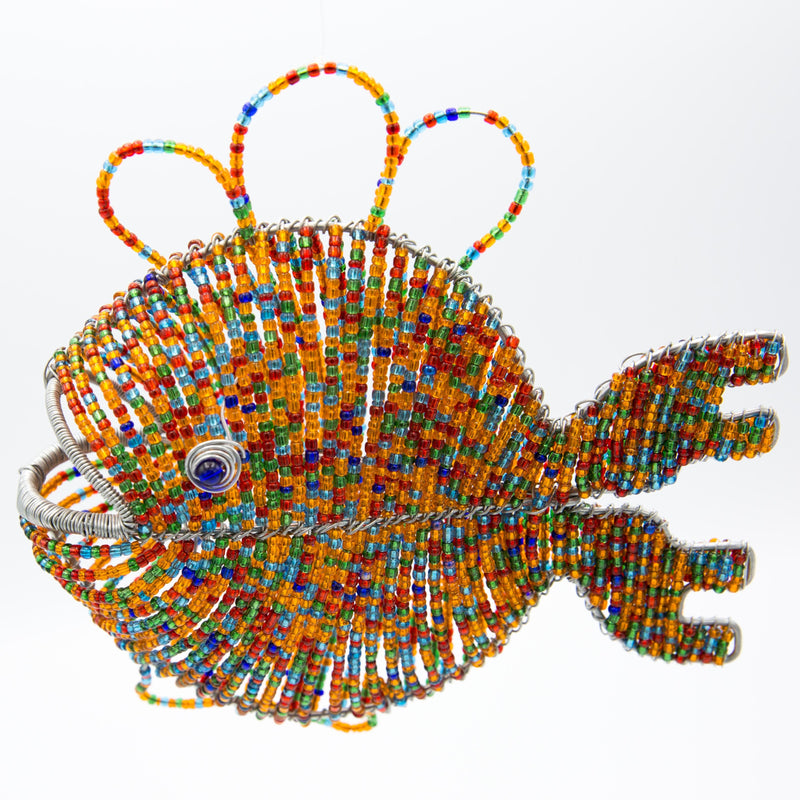 Shanga Hanging Fish - Kenyan materials and design for a fair trade boutique