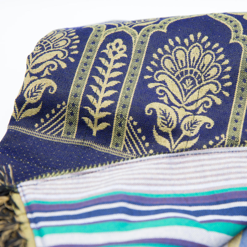 Dubai Throw - Kenyan materials and design for a fair trade boutique
