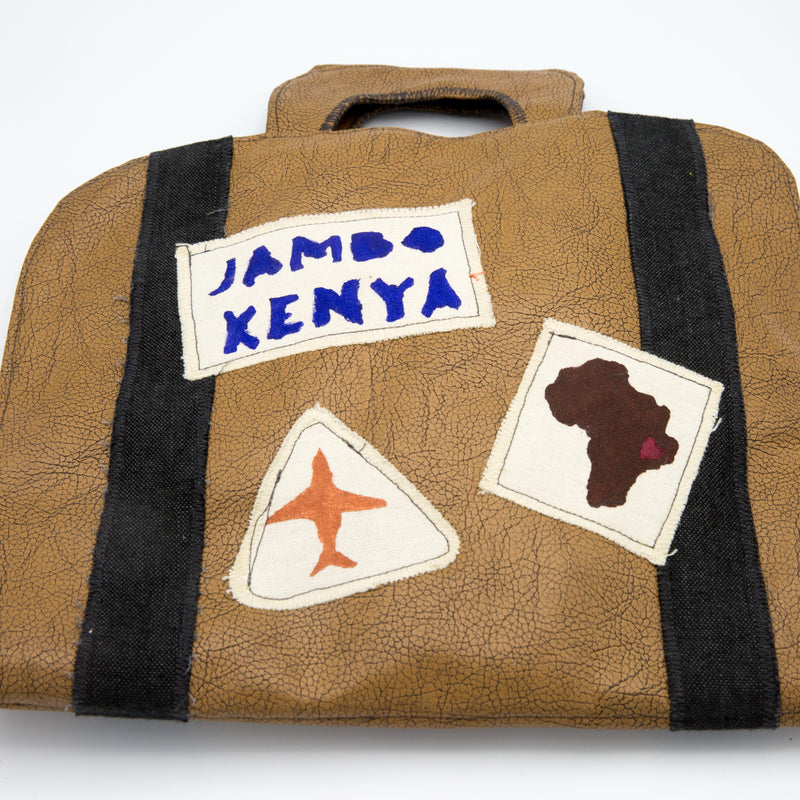 Busy Book - Kenyan materials and design for a fair trade boutique