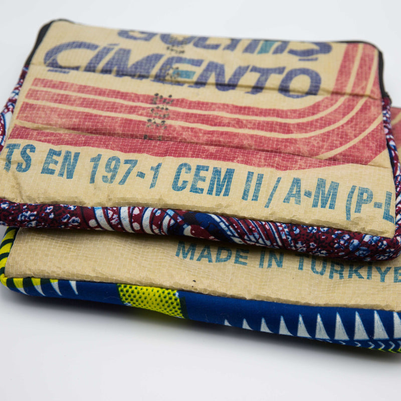 Cement Tablet Case - Kenyan materials and design for a fair trade boutique