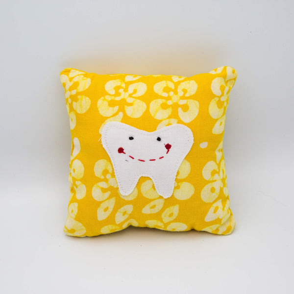 Tooth Pillow - Kenyan materials and design for a fair trade boutique
