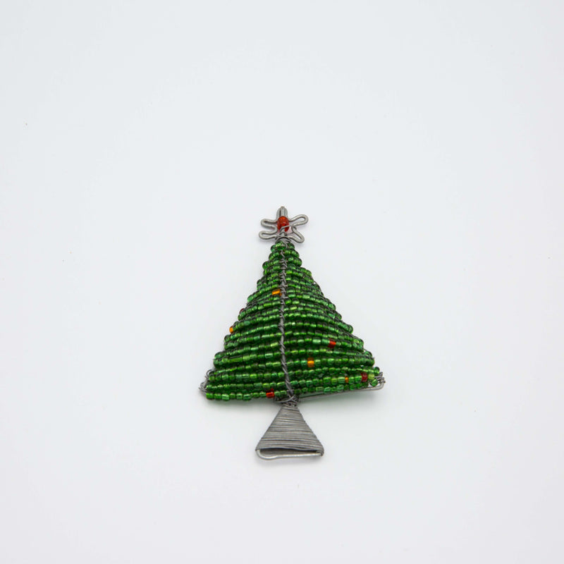 tree Christmas Magnet on a white surface