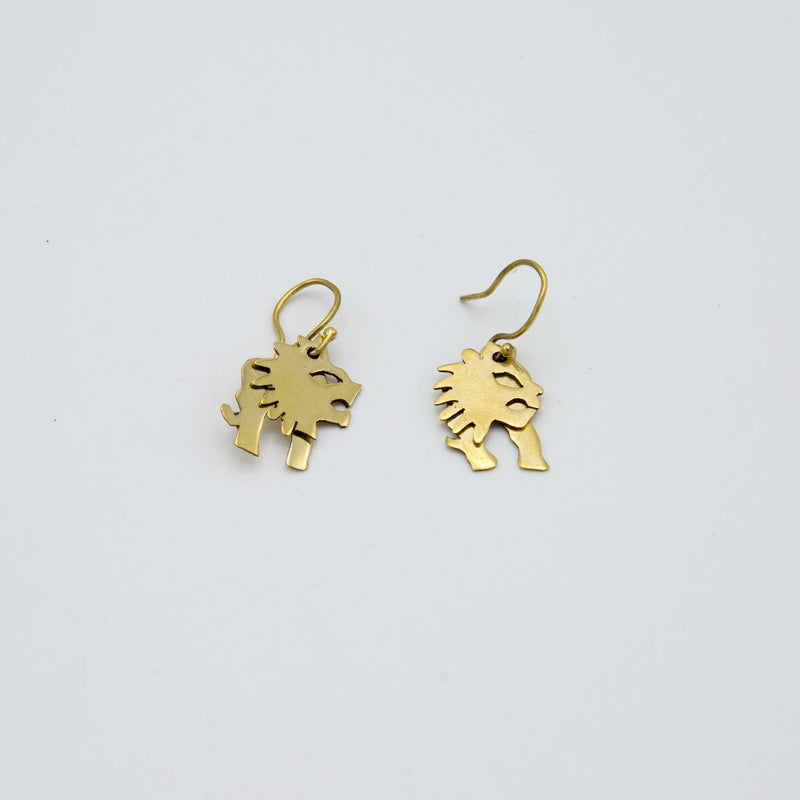 Animated Animal Earrings - Kenyan materials and design for a fair trade boutique