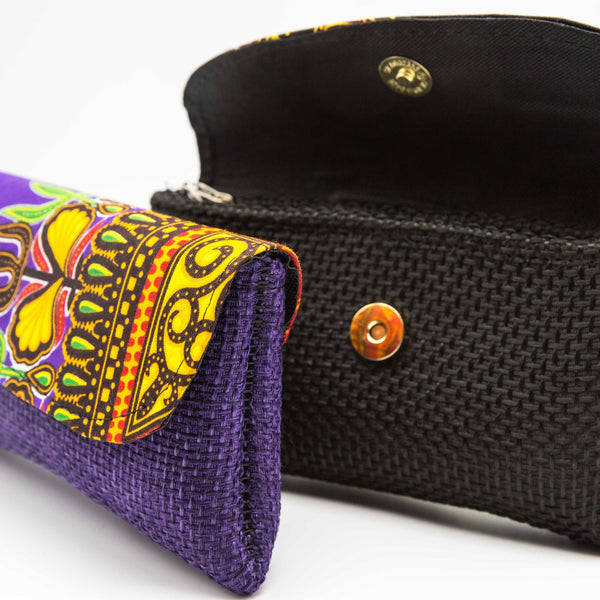 Jute Clutch Petite - Kenyan materials and design for a fair trade boutique