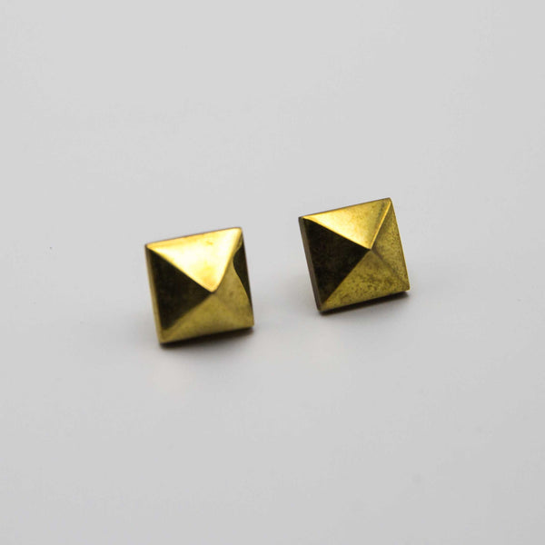 Prism Stud Earrings - Kenyan materials and design for a fair trade boutique