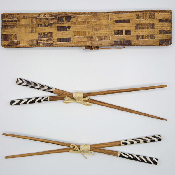 Olivewood & Bone Chopsticks