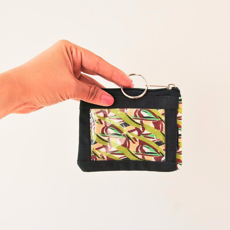 ID Coin Purse - Kenyan materials and design for a fair trade boutique