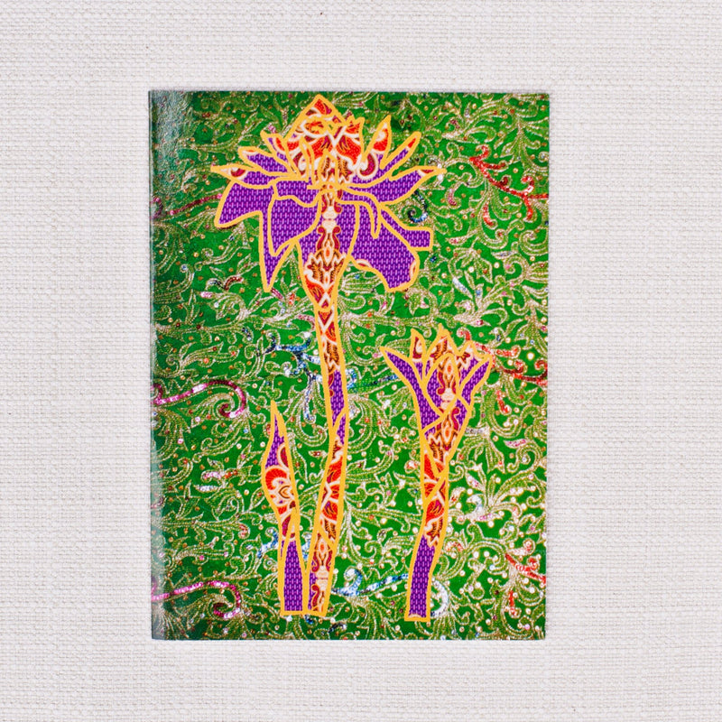 Flower Card Set of 5 - Kenyan materials and design for a fair trade boutique