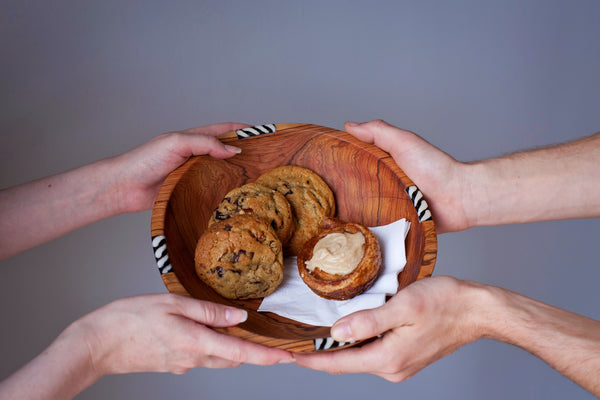 African Olivewood Bowl - Kenyan materials and design for a fair trade boutique