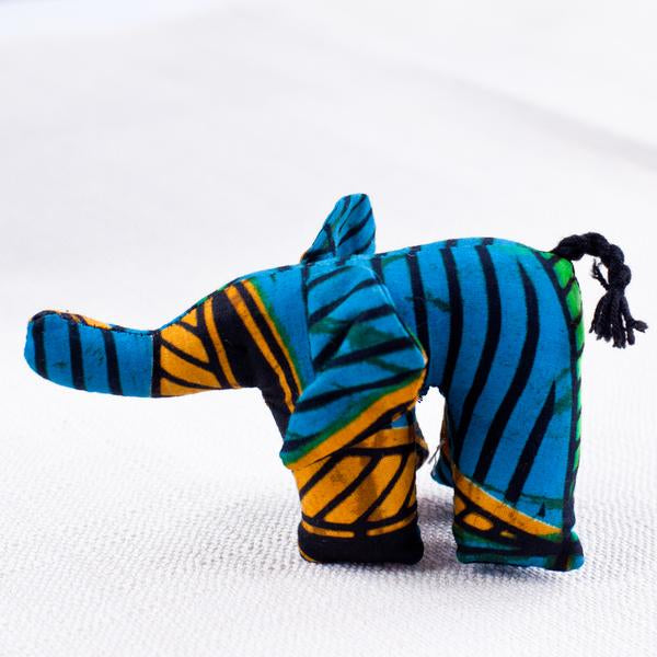 Mini Plush Animals - Kenyan materials and design for a fair trade boutique