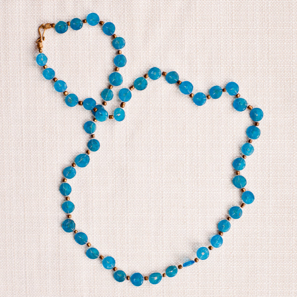 Glass Lace Strand - Kenyan materials and design for a fair trade boutique