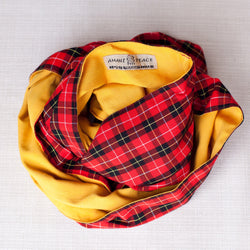 Maasai Infinity Scarf - Kenyan materials and design for a fair trade boutique
