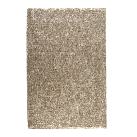 Hand-tufted Beige/ Taupe Textured Shag Area Rug - 5' x 7'6""