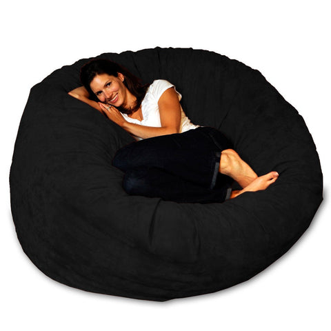 5-foot Memory Foam Bean Bag Chair