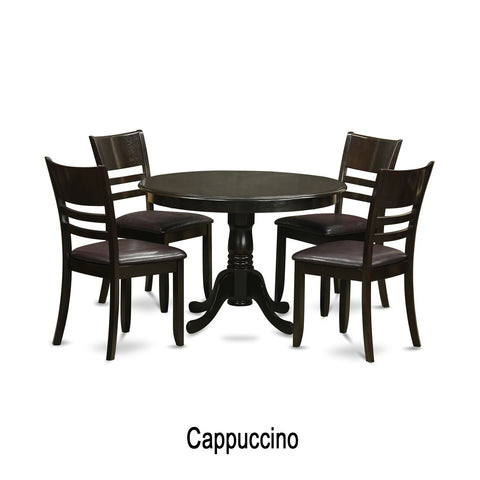 5-piece Small Dining Table and 4 Dinette Chairs