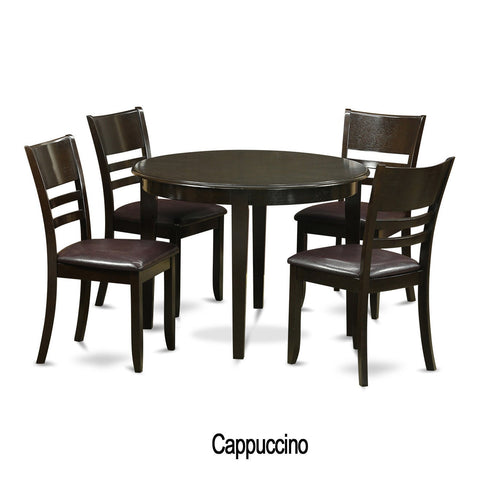 5-piece Small Kitchen Dining Nook and 4 Kitchen Chairs