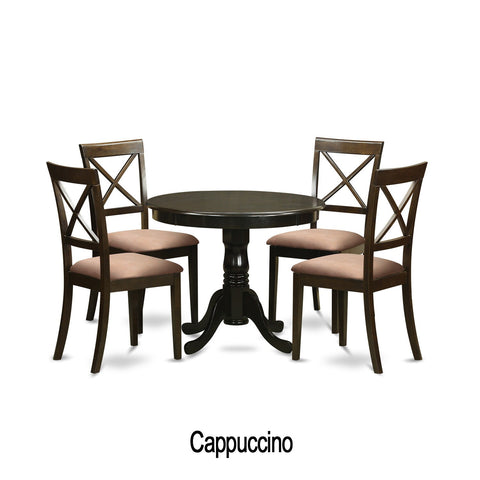 5-piece Small Kitchen Table and 4 Chairs