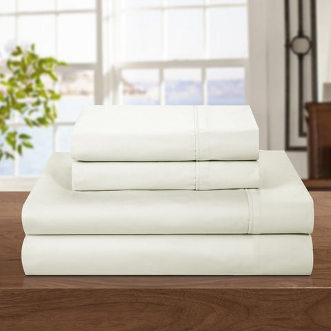500 Thread Count Cotton Rich 4-piece Sheet Set