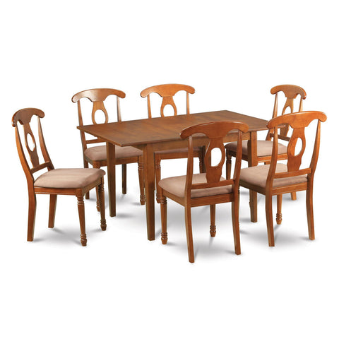 7-piece Dinette Table and 6 Kitchen Dining Chairs