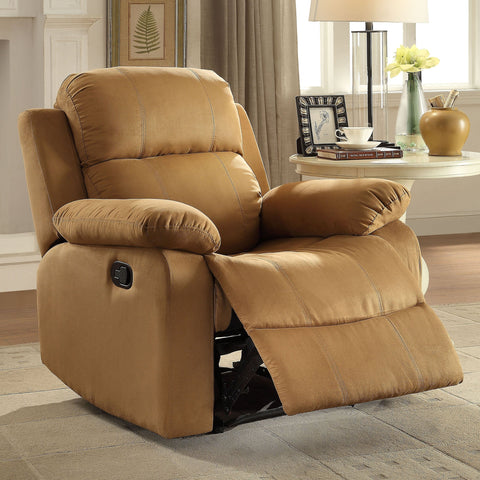 Acme Furniture Parklon Brown Microfiber Recliner