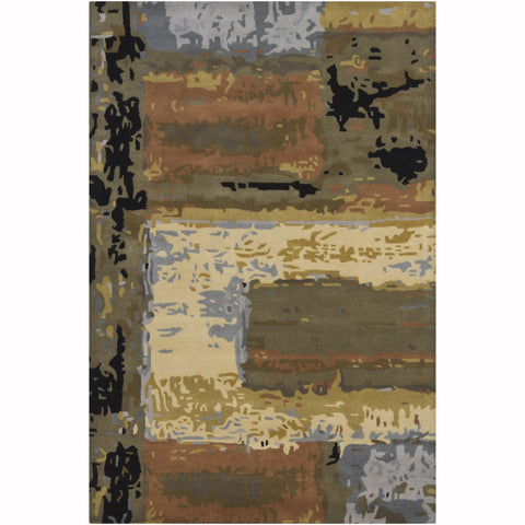 "Artist's Loom Hand-Tufted Contemporary Abstract Pattern New Zealand Wool Rug (7'9""x10'6\"")"