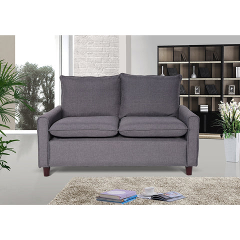 Blaire Fabric Modern Loveseat