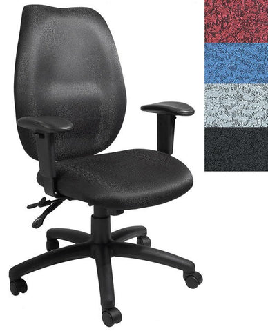 Boss High-back Adjustable Ergonomic Nylon Executive Office Chair