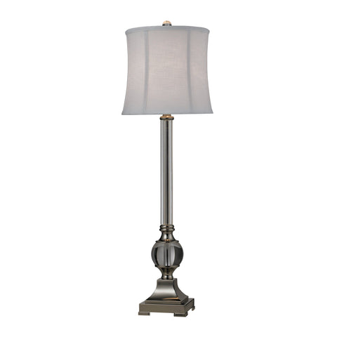 1-light Crystal Table Lamp