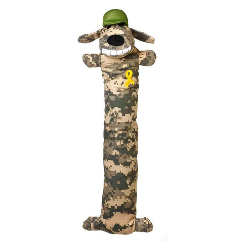 Multipet Support Our Troops Loofa Camo Dog Toy