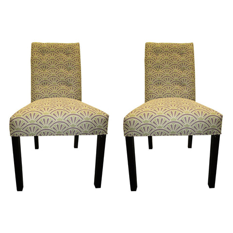 Sole Designs Bonjour 6-button Tufted Dining Chairs (Set of 2)