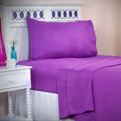 Winsor Home Series 1200 Thread Count Sheet Set Twin XL - Purple