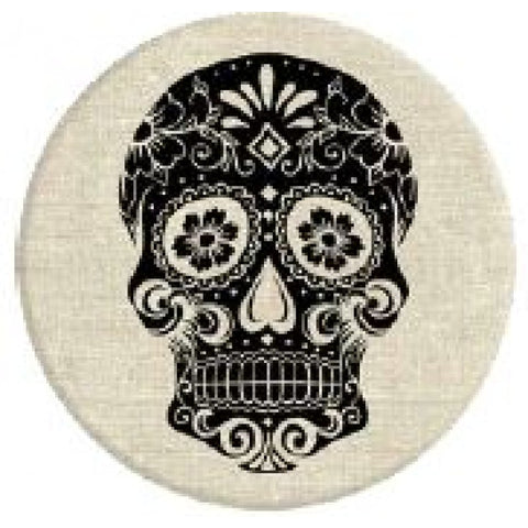 Popsocket Sugar Skull on Linen
