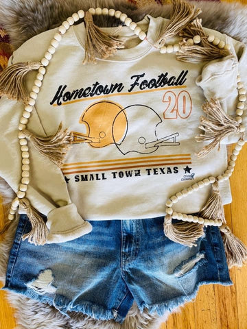 Hometown Football Sweatshirt