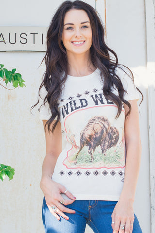 WILD WEST FITTED & UNISEX TEE