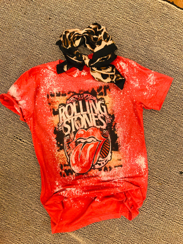 Rolling Stones Bleached Tee