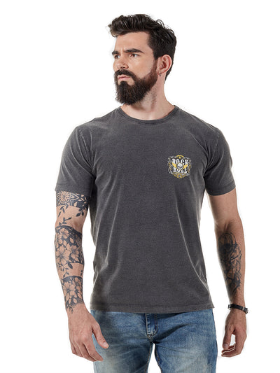 ROCK CLUB, BABY - camiseta masculina forever rock n roll
