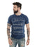 ROCK CLUB, BABY - camiseta masculina choose your weapons azul