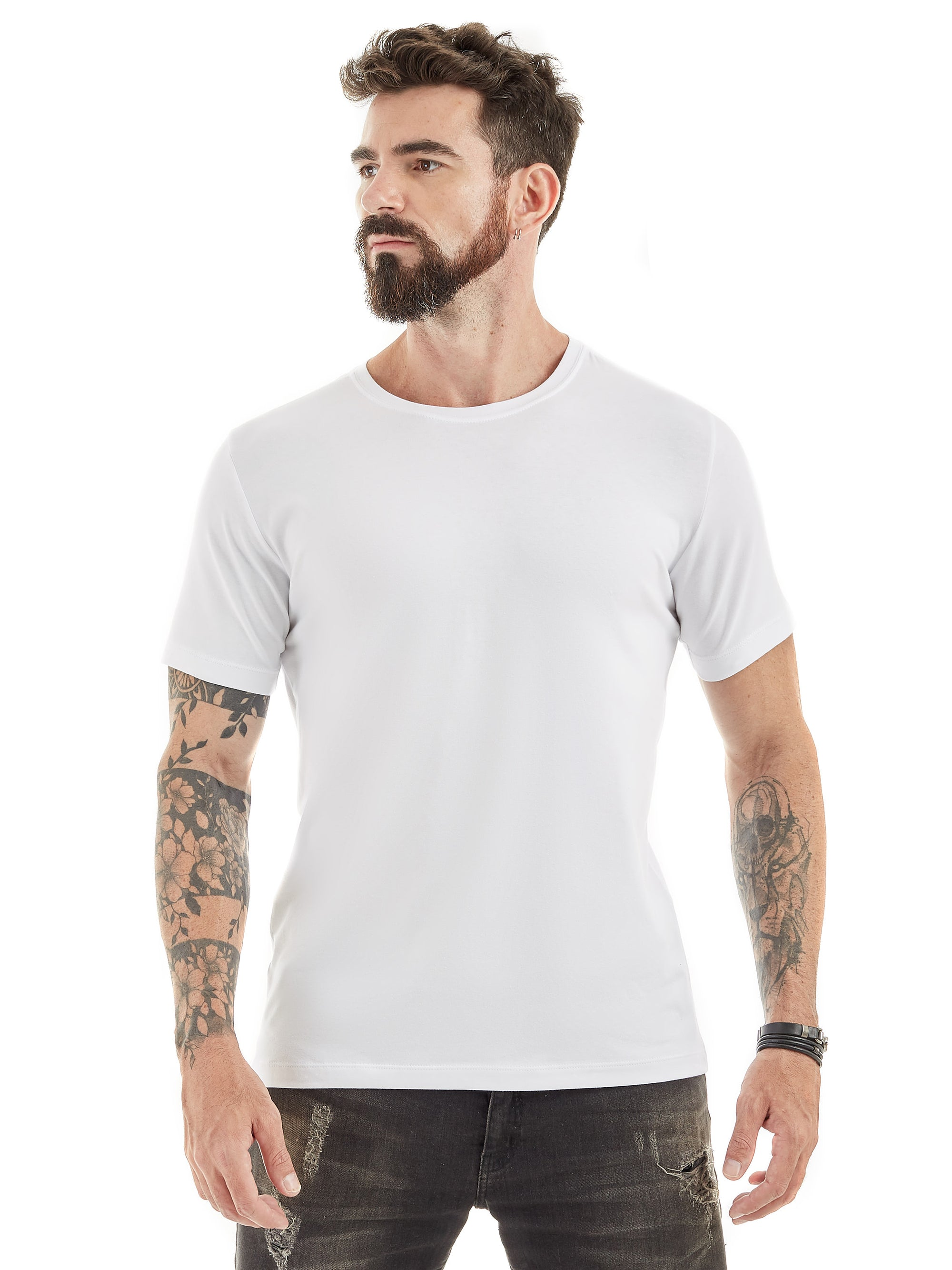 Camiseta masculina All White