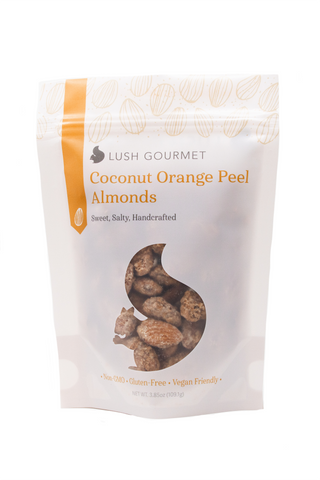 Coconut Orange Peel Almonds