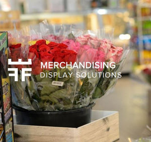 DISPLAY SOLUTION, FLOWERS, flowers for business, ritail flowers