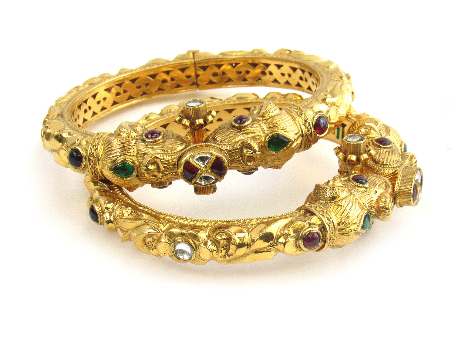 sheelajewelers pipe bangle karat set gold products p bs