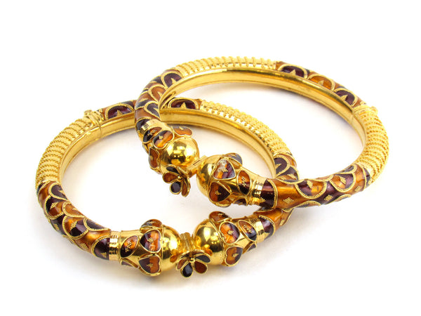 54.50g Pipe Bangle Set - 150