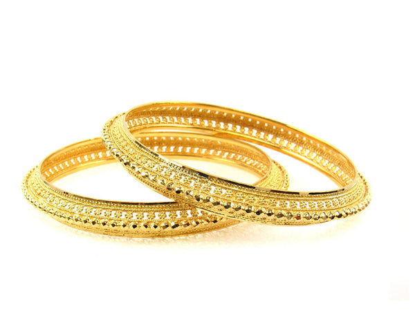 31.30g 22Kt Gold Stackable Bangle Set (Sz: 6) - 1720