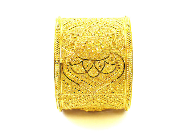 87.90g 22Kt Gold Yellow Bangle Set - 159