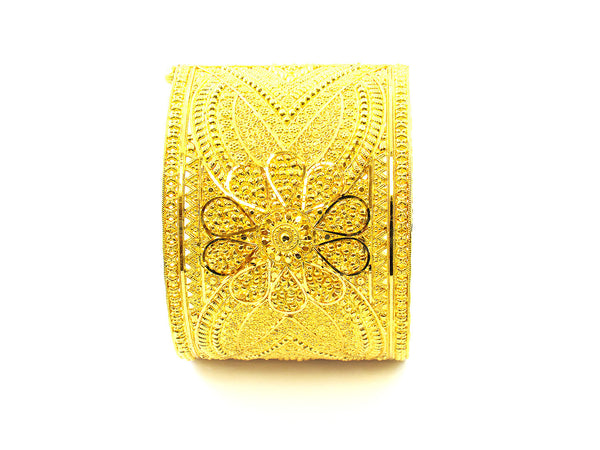 46.30g 22Kt Gold Yellow Bangle Set - 160