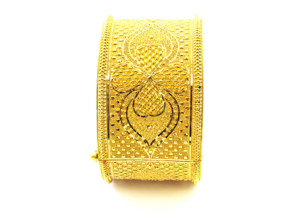 46.65g 22Kt Gold Yellow Bangle Set - 162