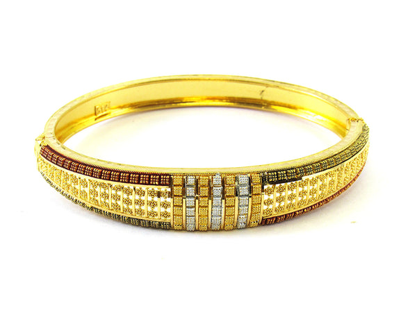 16.80g 22Kt Gold Yellow Bangle Set - 204